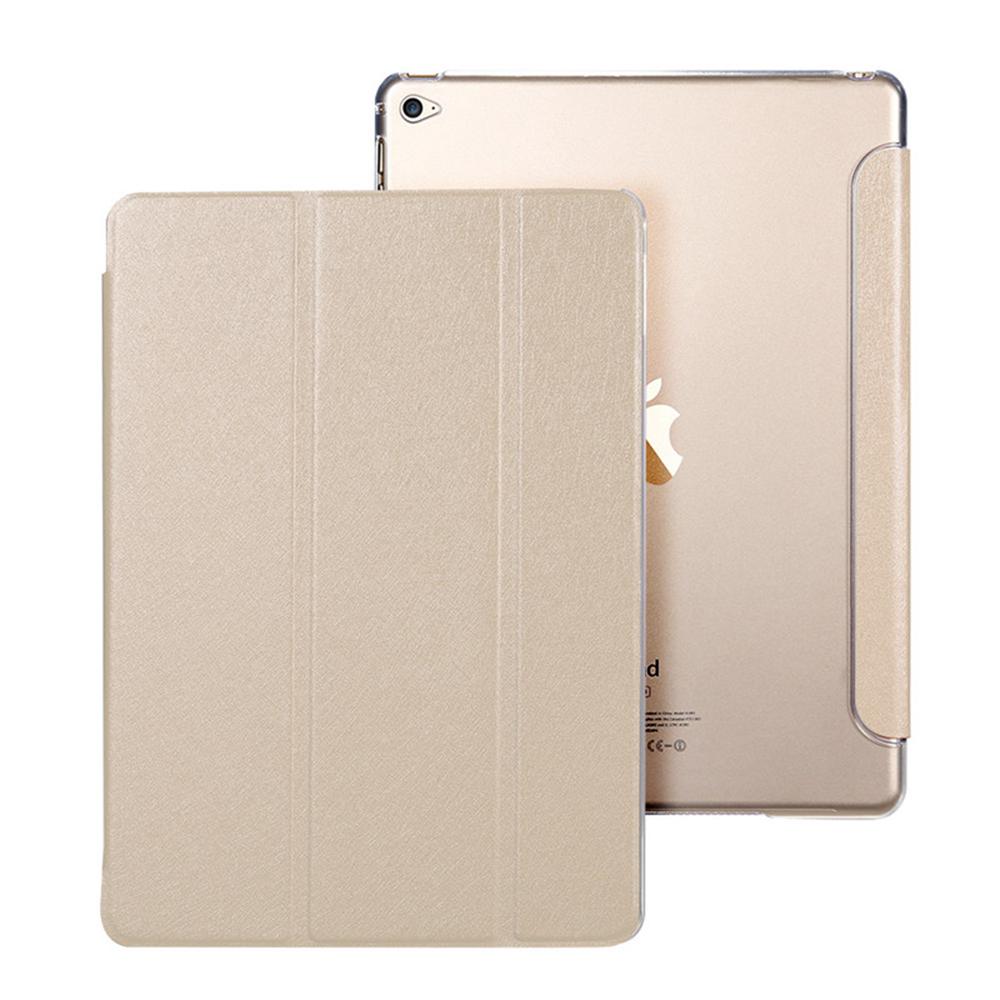 Flipové pouzdro s průhlednými zády pro iPad Air - Zlaté (gold)