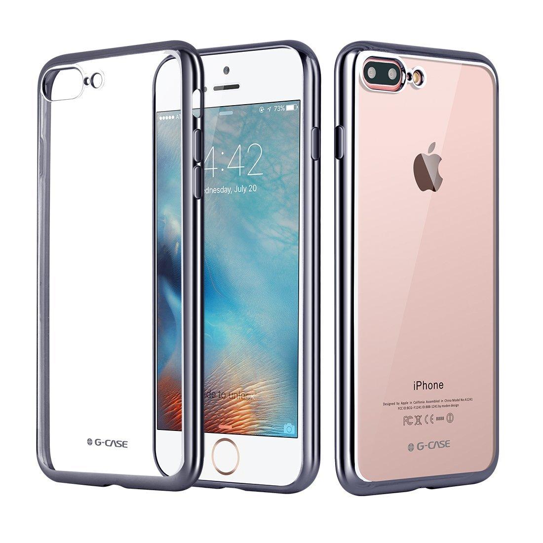 Elegantní obal / kryt RING pro iPhone 7 (gray)