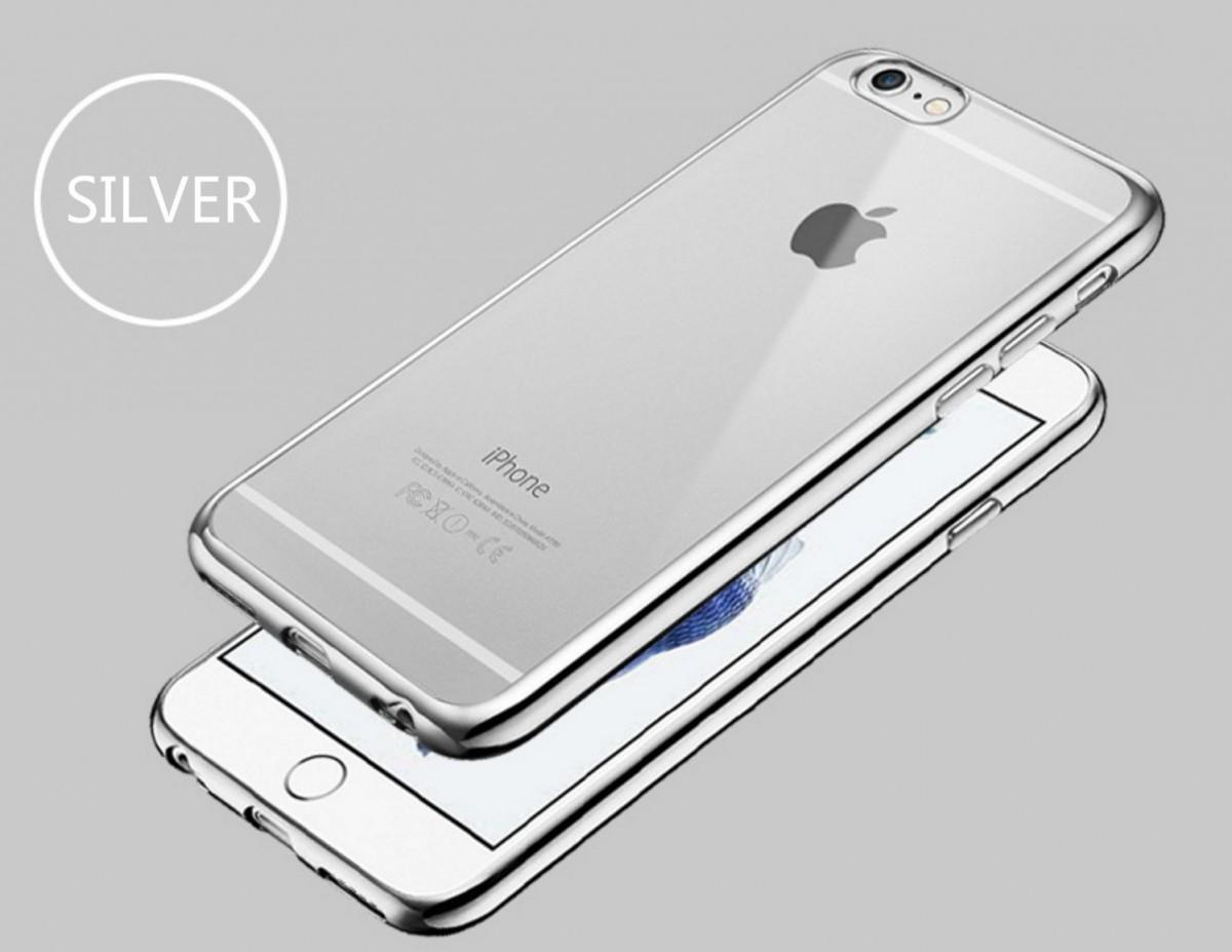 Elegantní obal / kryt RING pro iPhone 6s Plus / 6 Plus - Stříbrný (silver)