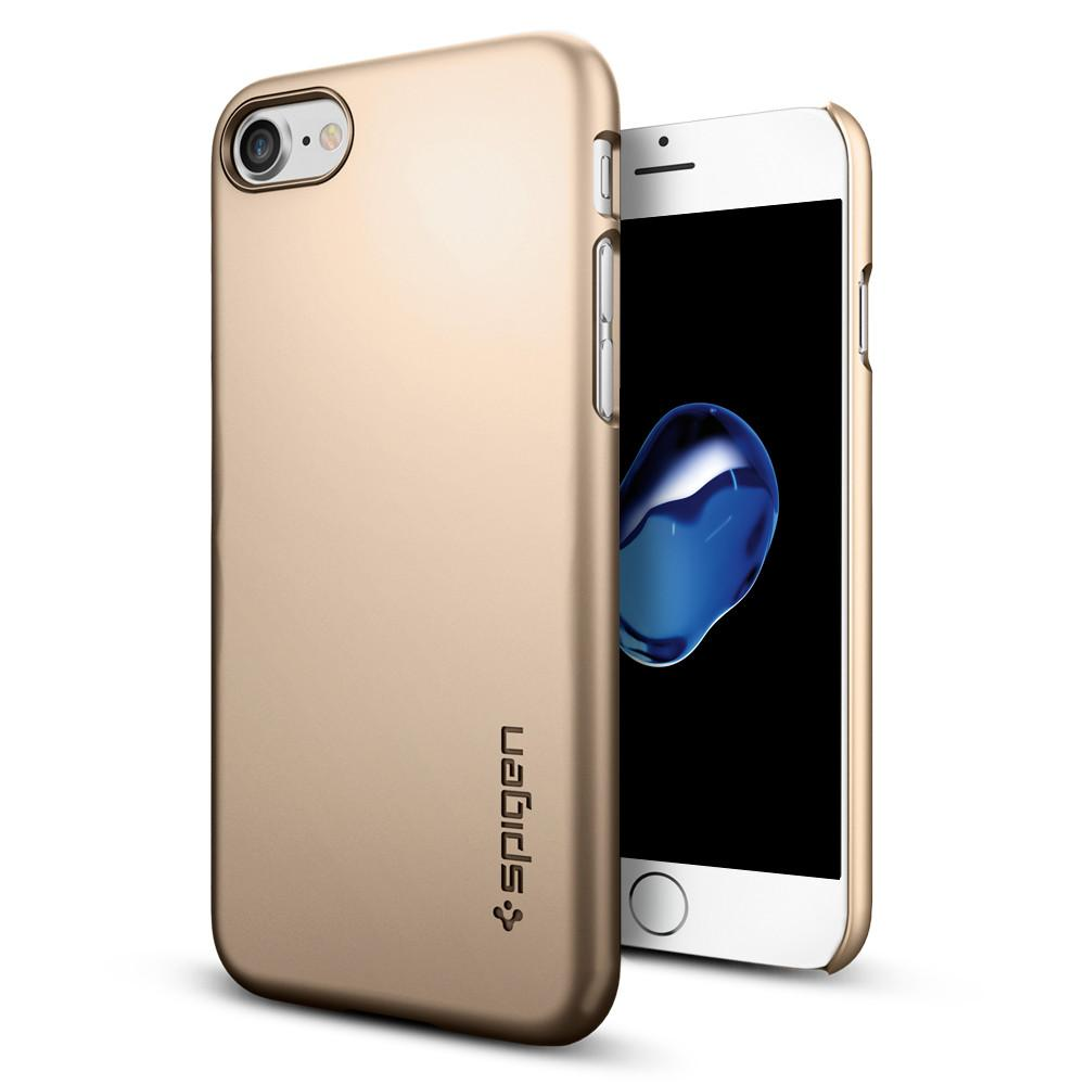 Pouzdro SPIGEN Thin Fit Apple iPhone 8 / iPhone 7 - Champagne zlaté