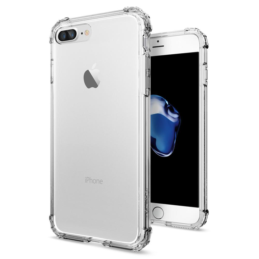 Pouzdro SPIGEN Crystal Shell pro Apple iPhone 7 Plus / 8 Plus - Clear Crystal