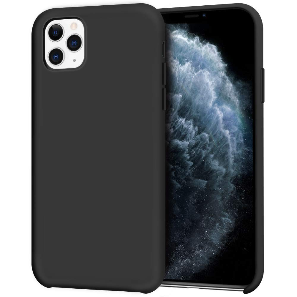 Pouzdro iMore Silicone Case iPhone 11 Pro - Černý