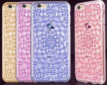Kryt 3D Flowers & Crystals pro Apple iPhone 6s / 6