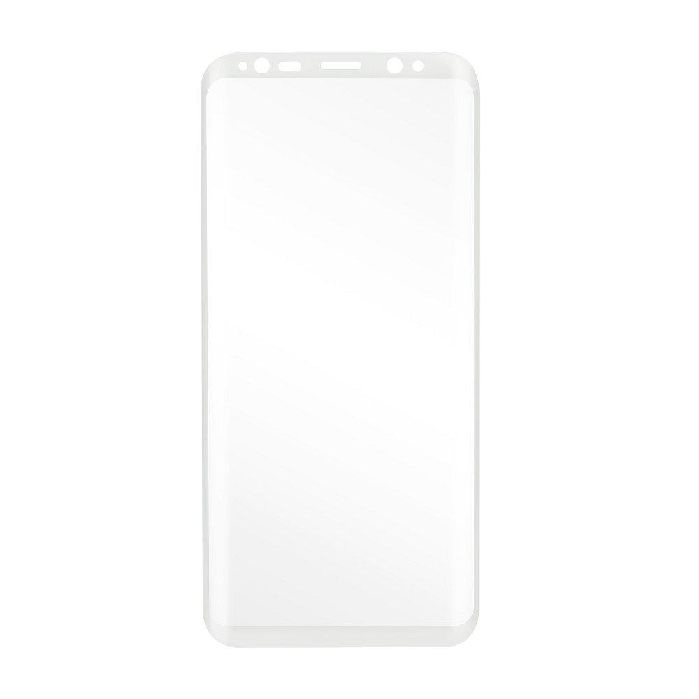 X-ONE Tvrzené sklo 3D/4D FULL COVER 0,3mm na displej Galaxy S8 Plus - 3D FULL COVER EDGE GLUE