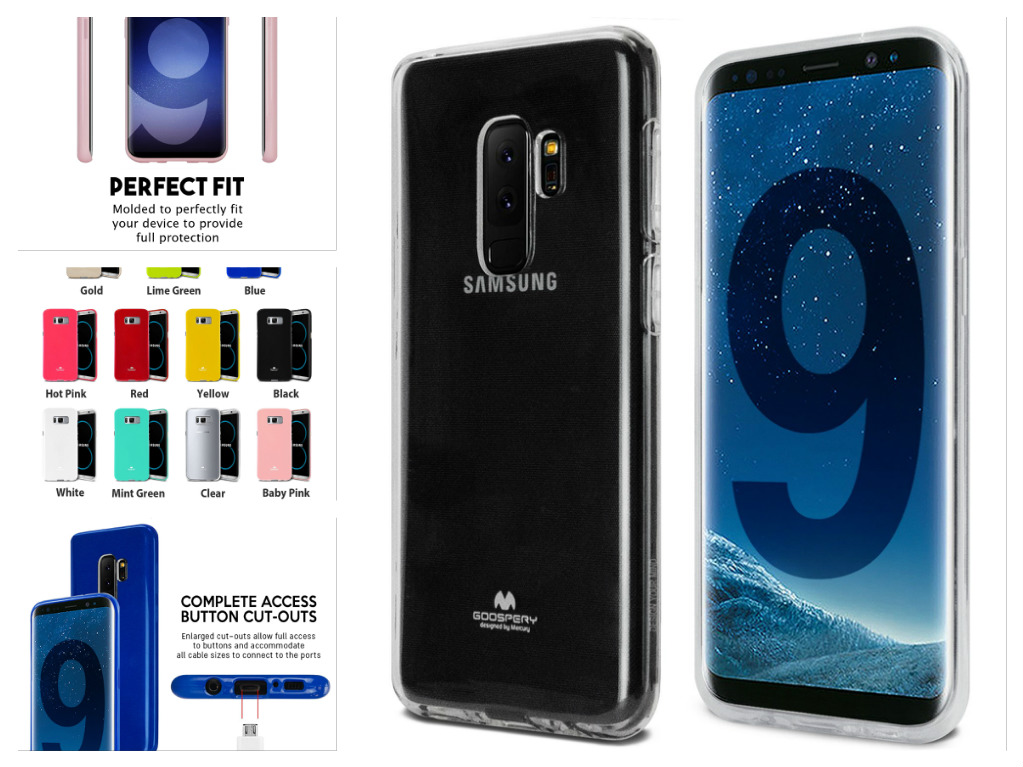 Silikonový obal / kryt JELLY Case od Goospery Mercury na Samsung Galaxy S9 Plus
