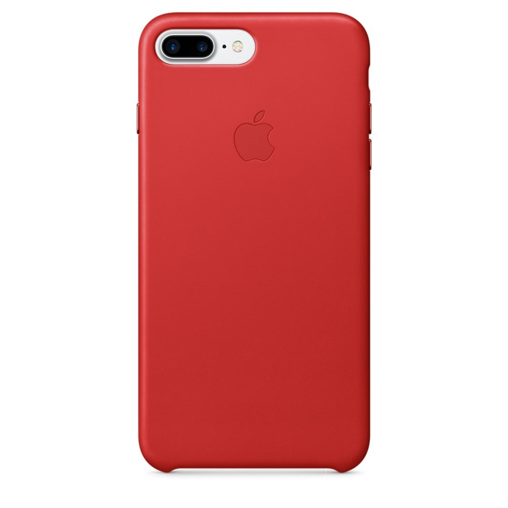 Pouzdro Apple iPhone 8 Plus   7 Plus Leather Case - Red ) 980325ad14a