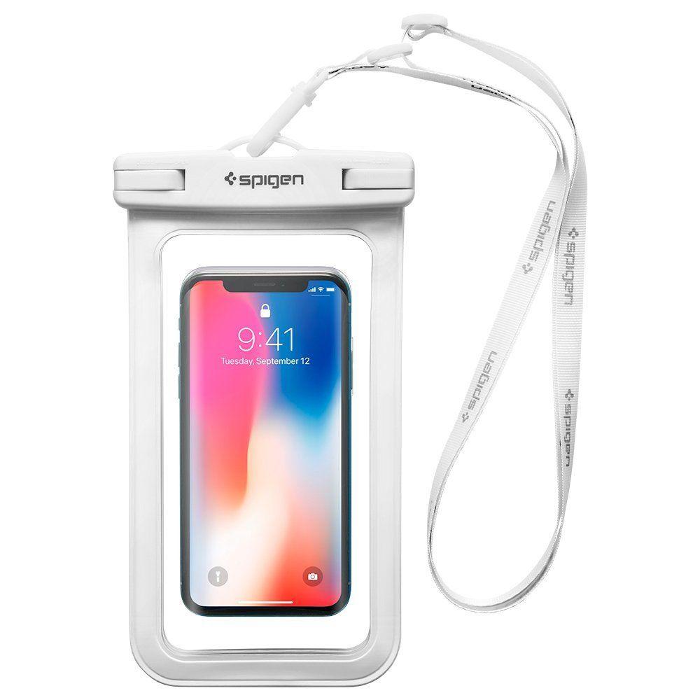 Pouzdro Spigen Velo A600 Waterproof Phone - Bílé