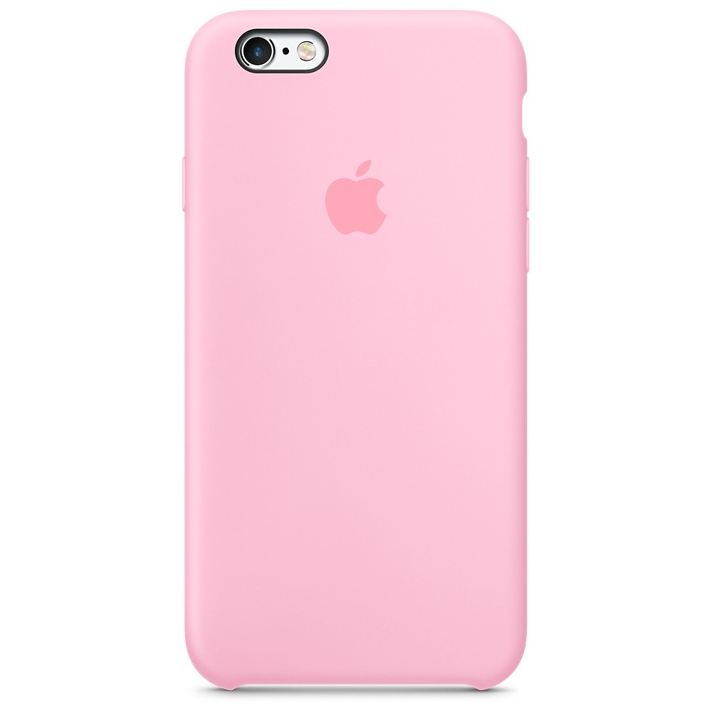 Pouzdro Apple Silicone Case iPhone 6/6S - Růžové