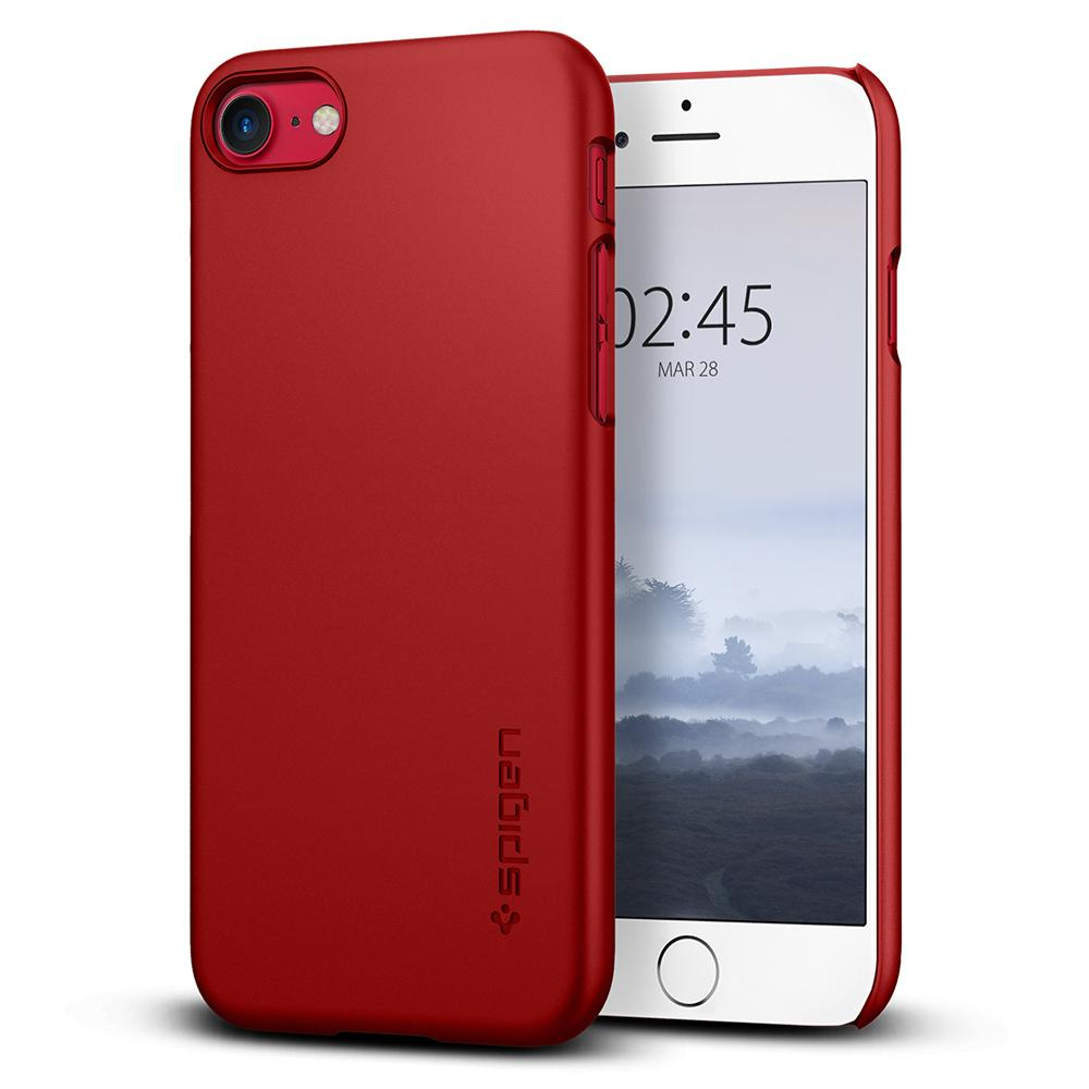 Ochranný kryt SPIGEN Thin Fit pro Apple iPhone 8 / iPhone 7 - Red