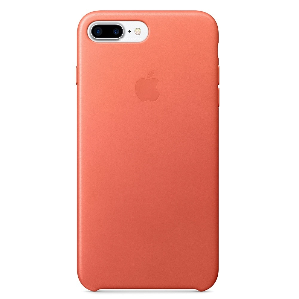 Pouzdro Apple Leather Case Apple iPhone 7 Plus - Geranium d6eb9f03ccc