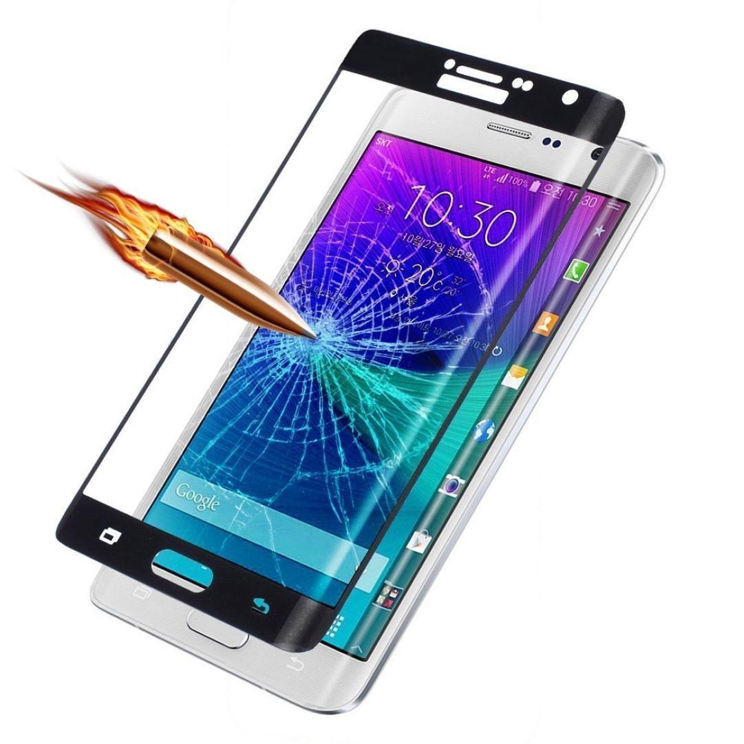 3D Tvrzené sklo 9H na celý displej pro Samsung Galaxy Note Edge - Černé (black)