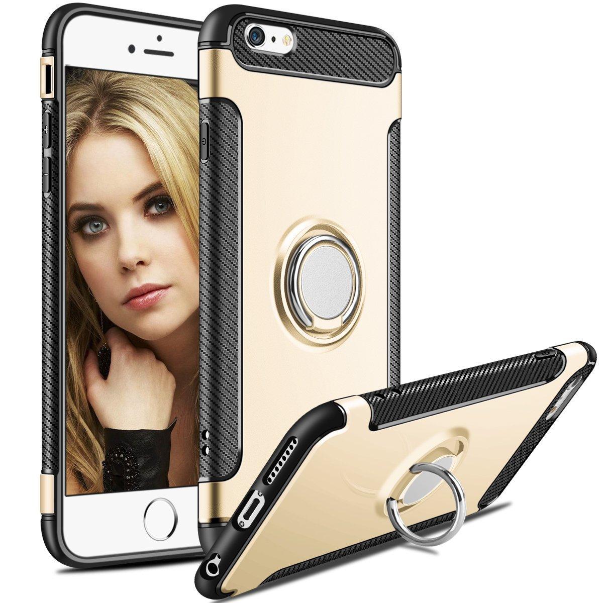Pouzdro iMore Magneto na Apple iPhone 6s/6 - zlatý