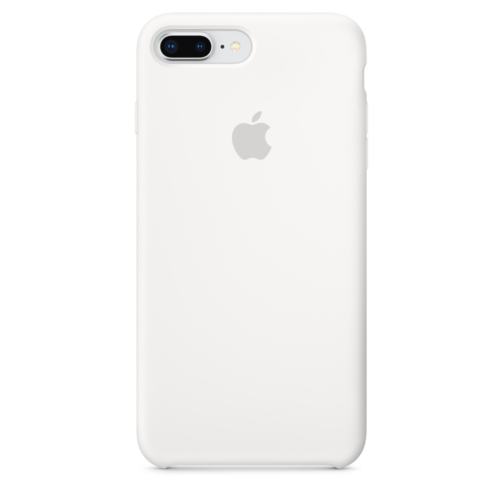 Pouzdro Apple iPhone 8 Plus / 7 Plus Silicone Case - bílé