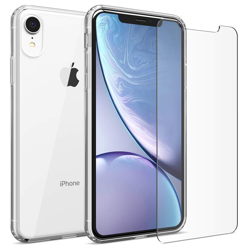 iMore SET: Čirý silikonový kryt a tvrzené sklo PRO+ 9H na iPhone XR