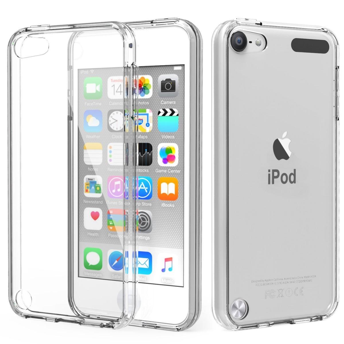 Pouzdro iMore Silicone Case na iPod Touch 5 - čiré 6424b6ed581