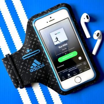 Pouzdro na běhání Adidas Griffin Sport Armband pro iPhone SE/5S/5
