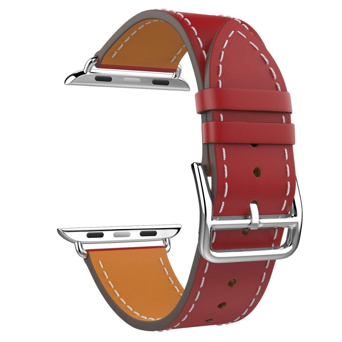 Řemínek Single Tour pro Apple Watch Series 3/2/1 (42mm) - Červený
