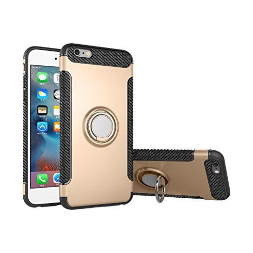 Pouzdro iMore Magneto na Apple Phone 6s/6 Plus - zlatý