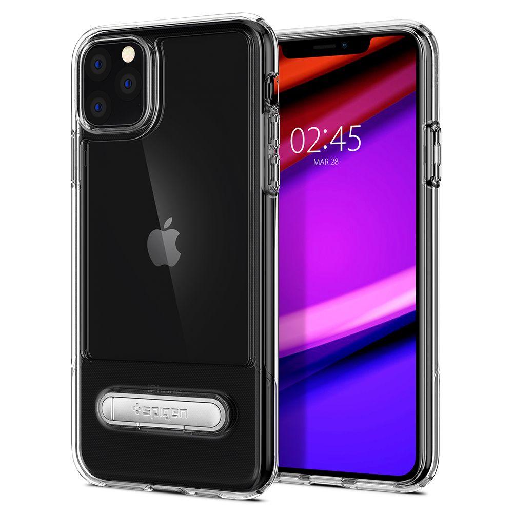 Pouzdro Spigen Slim Armor Essential S iPhone 11 Pro - Čiré