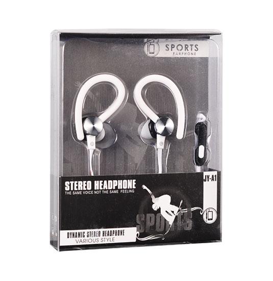 Sportovní sluchátka Tel1 SPORT JY-A15900217197317 - Bílé