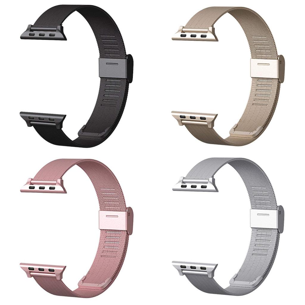 Ocelový řemínek MILANESE CLASSIC pro Apple Watch Series 3/2/1 (38mm)