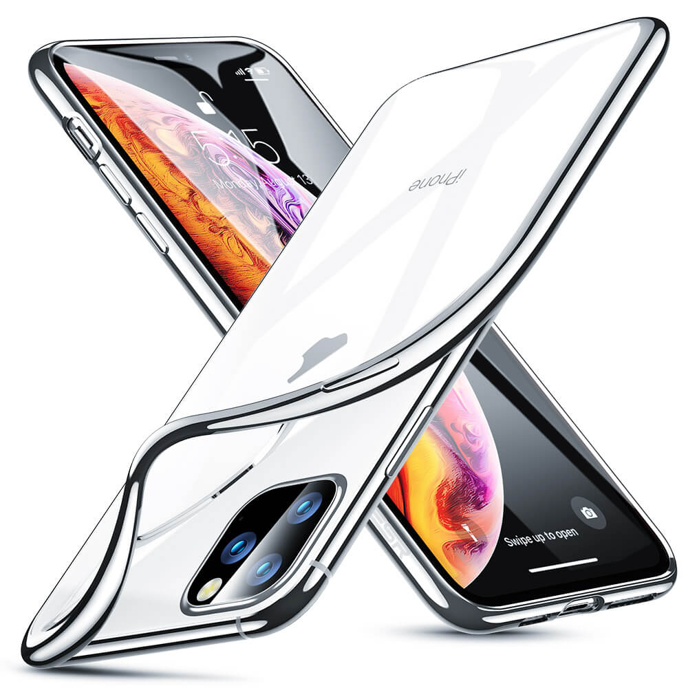 Pouzdro ESR Essential Crown Apple iPhone 11 Pro Max - Stříbrný
