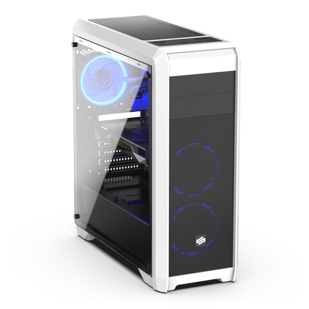 iMore GameBox Budget R3 RX570 - Bílý