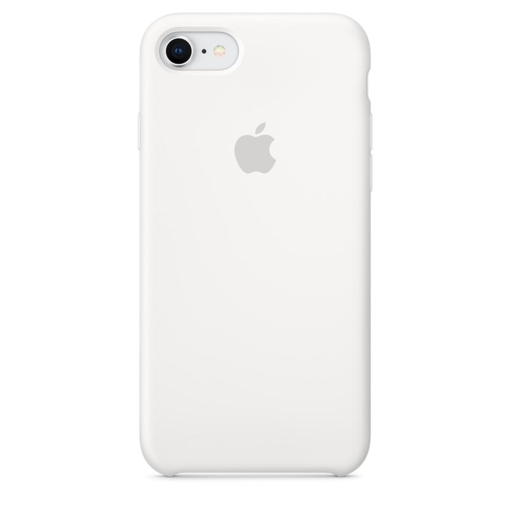 Pouzdro Apple iPhone 8/7 Silicone Case - bílé
