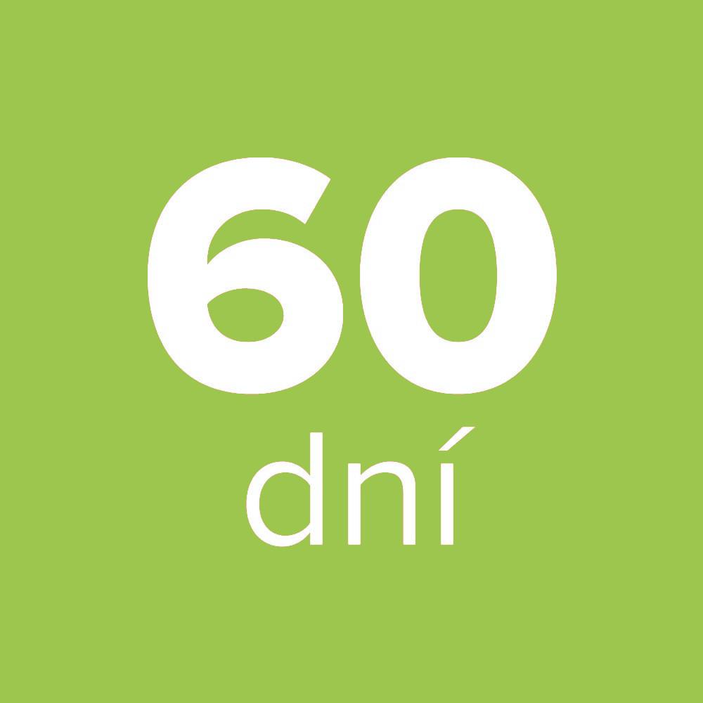 Možnost vrátit zboží do 60 dnů