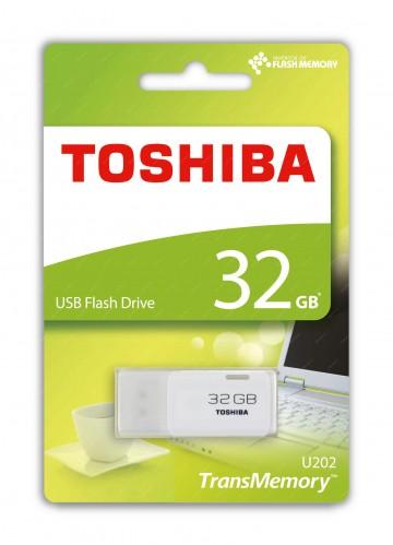 TOSHIBA 32GB Flash disk USB 2.0 U202 THN-U202W0320E4
