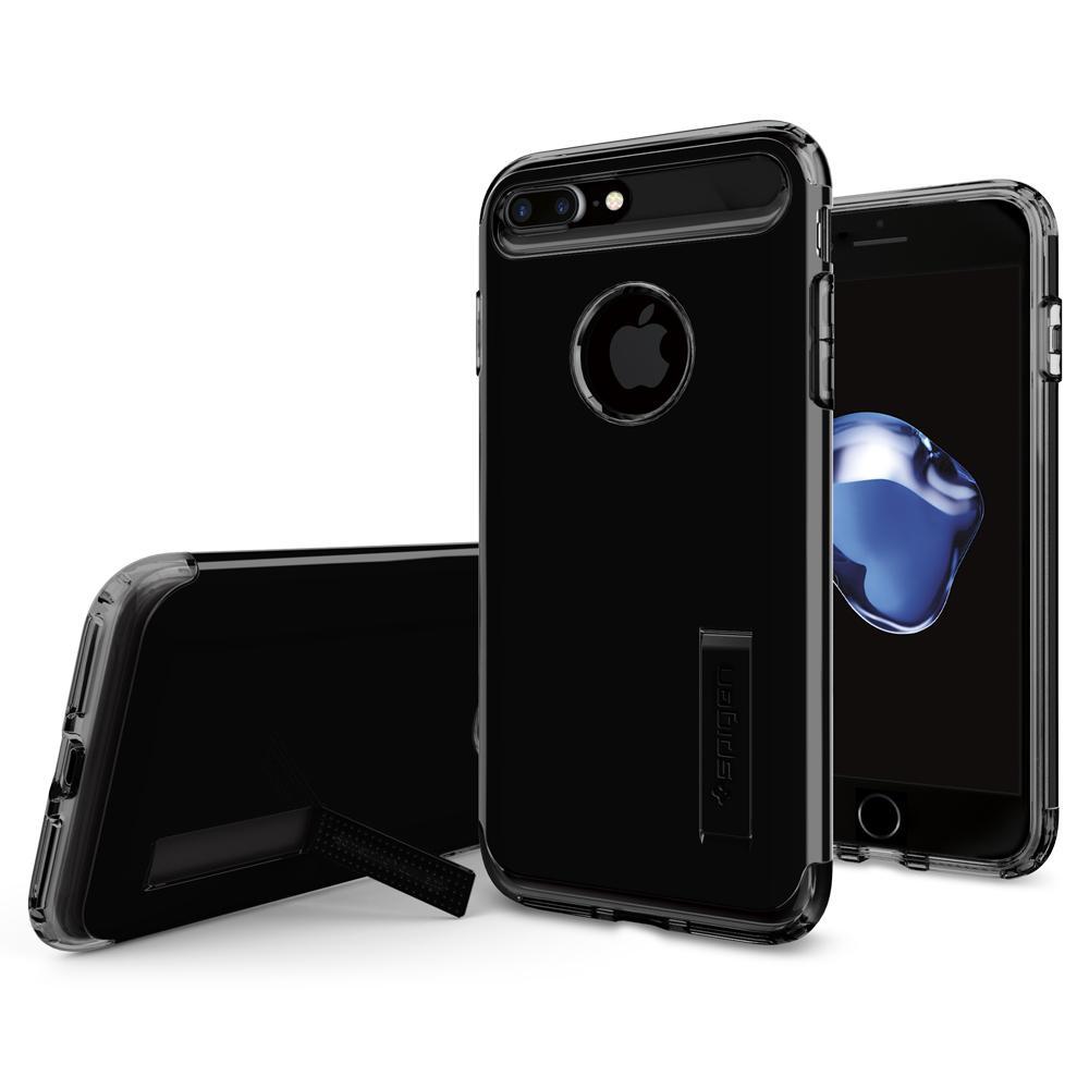 Ochranný kryt SPIGEN Slim Armor pro Apple iPhone 8 Plus / 7 Plus - Jet Black