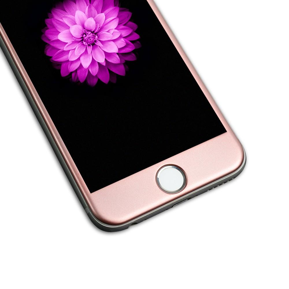 Tvrzené sklo FullCover na iPhone 6s / 6 - Rose Gold