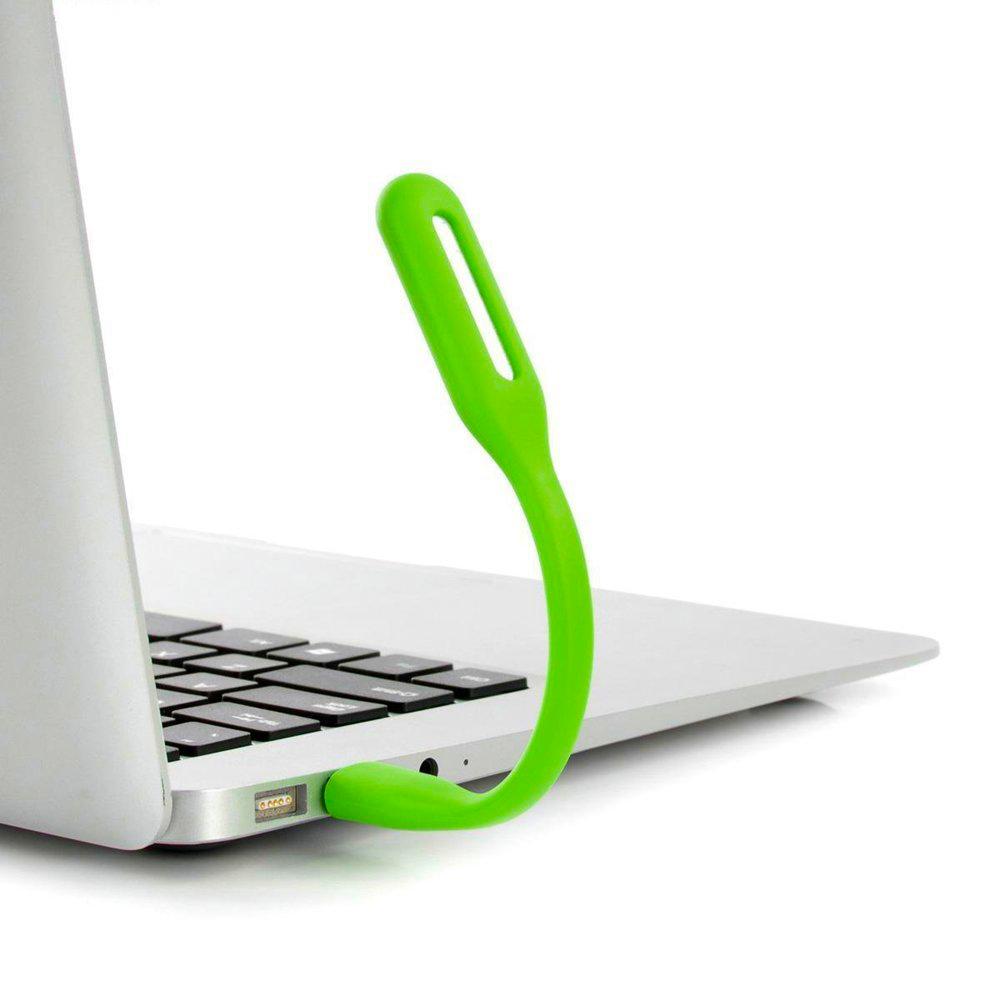 USB LED lampička .blun - Zelená