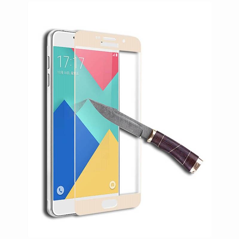 Swissten Samsung Galaxy A5 (2016) ochranné tvrzené sklo 3D zaoblené, zlaté 64701736