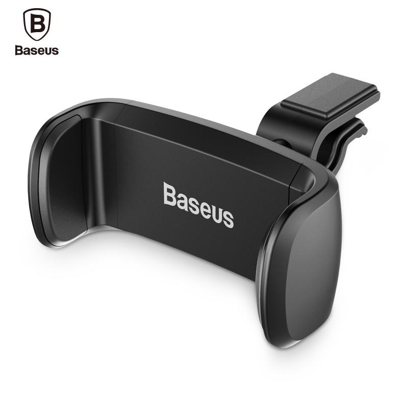 Univerzální držák Baseus do mřížky ventilace auta - Černý