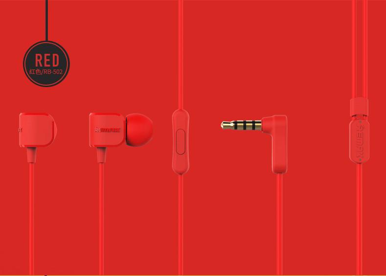 Remax RM-502 - Červená