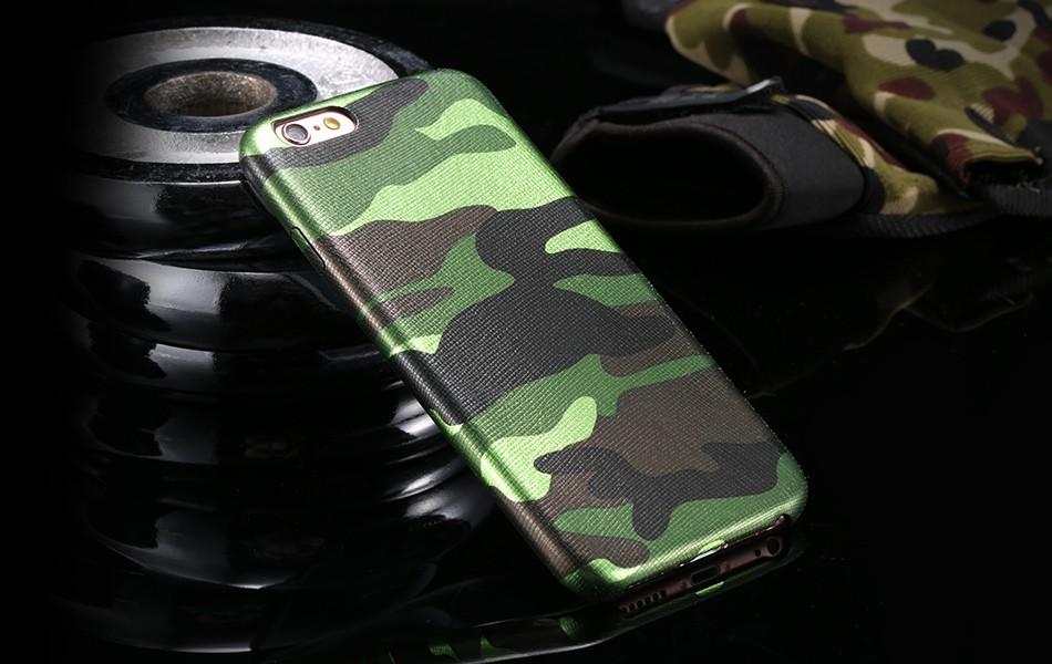 Pouzdro iMore Army Camouflage na iPhone 6s Plus / 6 Plus - zelené
