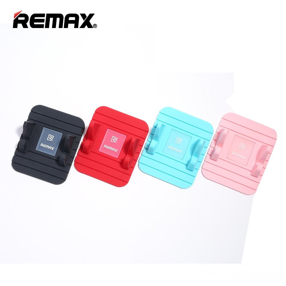 Nanopodložka REMAX Fairy s držákem na mobilní telefon - Černá
