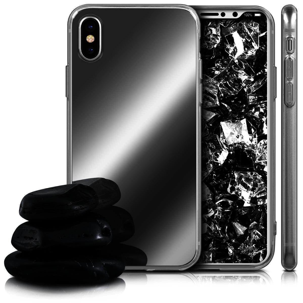 Pouzdro Telekryty Zrcadlové mirror iPhone X černé