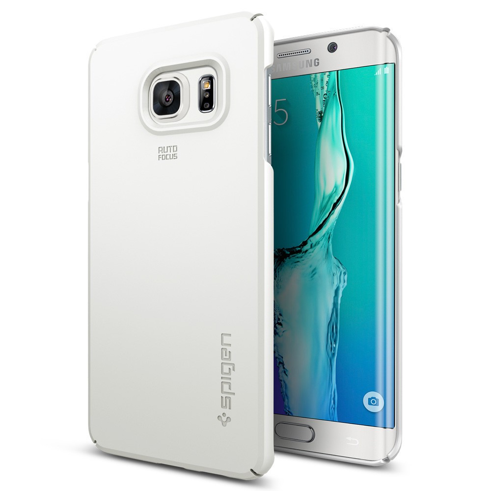 SPIGEN THIN FIT SHIMMERY WHITE SAMSUNG GALAXY S6 EDGE PLUS