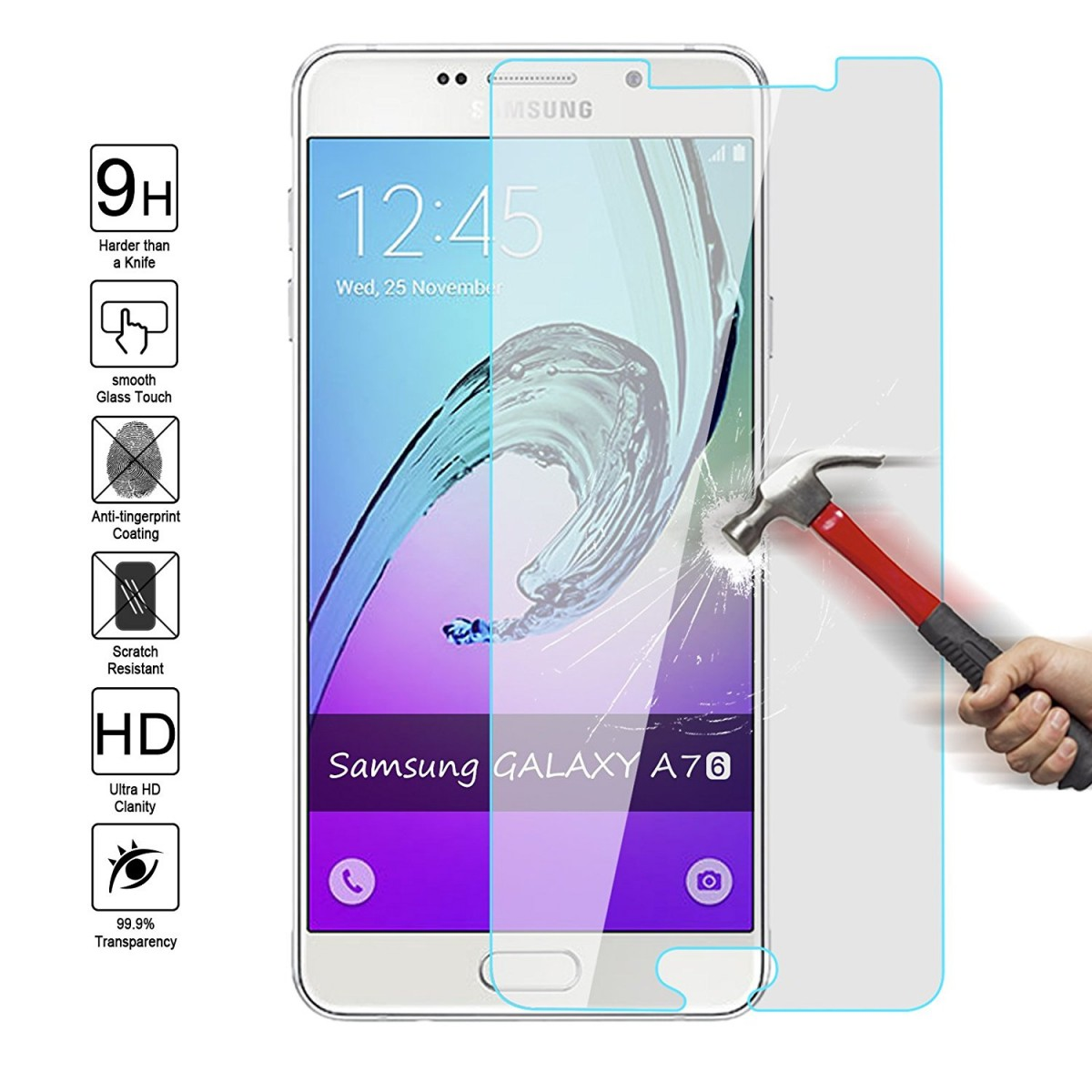 Epico Glass Tvrzené sklo pro Samsung Galaxy A7 (2016)