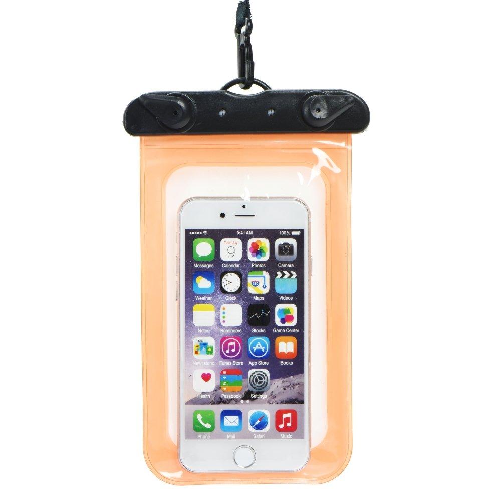 Pouzdro SES Univerzální vodotěsné Apple iPhone 6 7 8 X XS - Oranžové