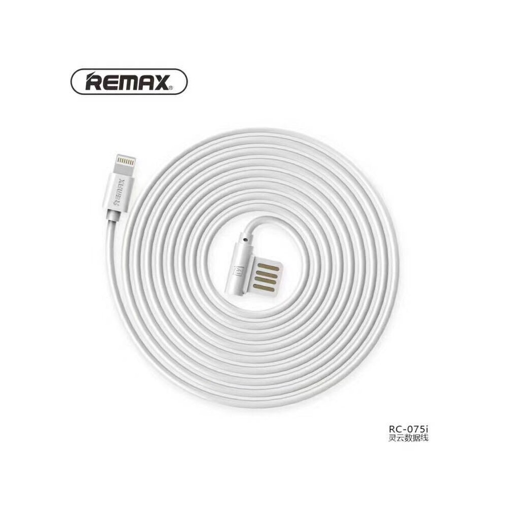 Remax RAYEN USB datový kabel Apple iPhone 5 8 pin lightning koncovka do boku