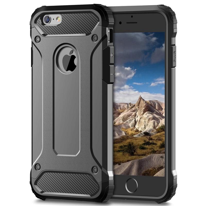 Odolný kryt Forcell Armor Case pro Apple iPhone SE / 5s / 5 - Šedý