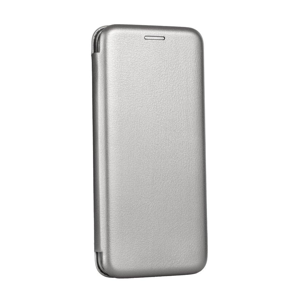 Pouzdro Forcell Kabura Book Elegance pro Apple iPhone SE/5S/5 - šedé