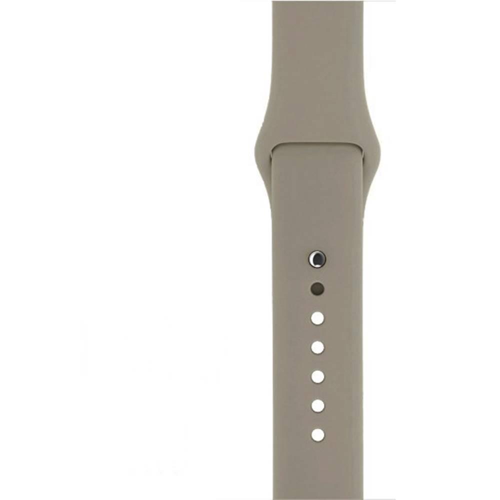 Řemínek SmoothBand pro Apple Watch 42mm Series 1 / 2 / 3 - Kamenně šedý