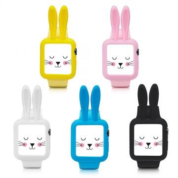 Silikonový obal Cartoon Rabbit Apple Watch 38mm Series 1, 2, 3