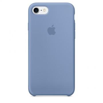 Originální silikonový kryt Apple iPhone 8 / 7 - Azurový