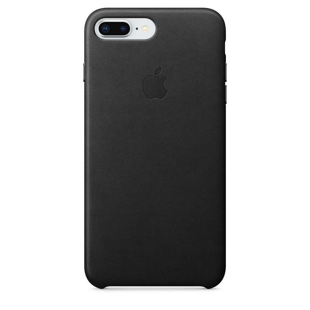 Pouzdro Apple iPhone 8 Plus / 7 Plus Leather Case - černé