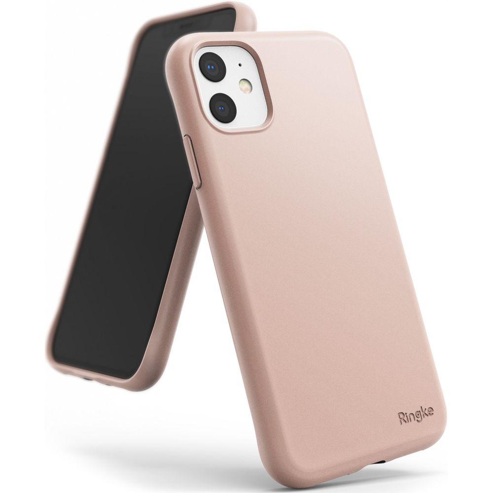 Pouzdro Ringke Air S Apple iPhone 11 - Pískově růžové